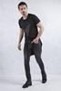 Siyah Denim Pantolon Kombini