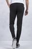 Siyah yan cepli pantolon Kombini