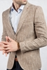 Kahverengi Kırçıllı Ceket Kombini