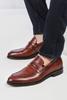 Taba Microlight Gündelik Deri Ayakkabı Kombini