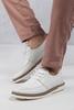 Beyaz Gündelik Ayakkabı Kombini