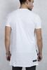 Beyaz Yan Fermuarlı Tshirt Kombini
