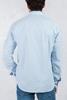 Mavi Kırçıllı Gömlek Kombini