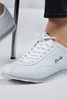 Beyaz Sneaker Spor Ayakkabı Kombini
