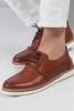Taba Rengi Ayakkabı Kombini