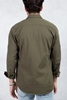 Haki Yeşil Slim Fit Gömlek Kombini