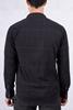 Siyah Kare Desen Gömlek Kombini