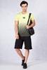 Siyah Şort - Neon Sarısı T-shirt Kombini