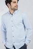 Açık Mavi Kırçıllı Gömlek Kombini