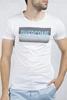 Beyaz Baskılı Tshirt Kombini