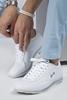 Beyaz Ayakkabı Kombini