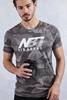 Koyu Gri T-shirt - Siyah Eşofman Kombini