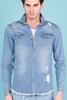 Mavi Kot Gömlek Erkek Kombini