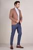 Hardal Rengi Blazer Ceket Erkek Kombini