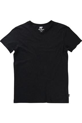 Solid Siyah Tişört