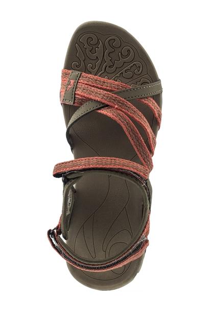 7M Eftal Haki Günlük Kadın Sandalet