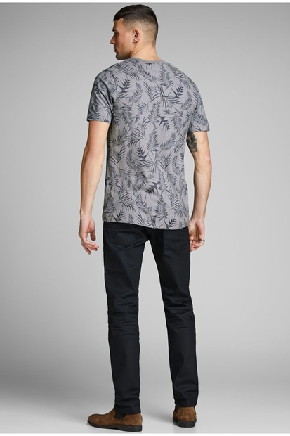 Sean Blu Gri Erkek Tişört