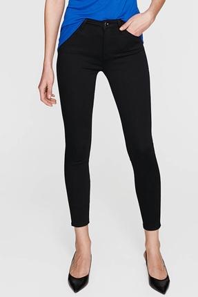 Tess Black Gold Siyah Kadın Pantolon