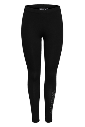Venice Jersey Leggings Siyah Kadın Tayt 15170339-B