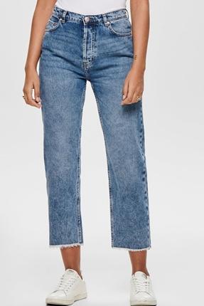 Roxy Straight Jeans Mavi Kadın Pantolon