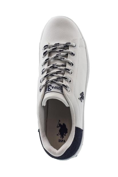 7M Pal Beyaz Sneaker Kadın Ayakkabı