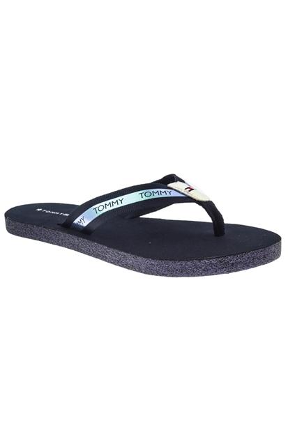 Flat Beach Sandal Lacivert Terlik