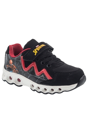 8f Komlan Siyah Çocuk Günlük Ayakkabı