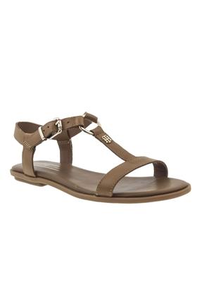 Kahverengi Günlük Kadın Sandalet