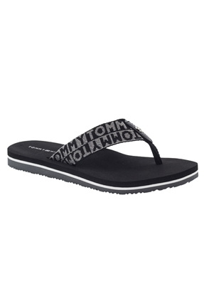 Flat Beach Sandal Siyah Terlik