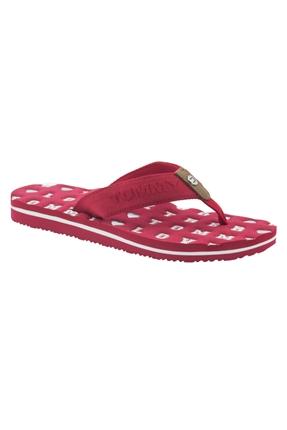 Flat Beach Sandal Kırmızı Terlik