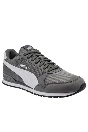 Puma St Runner V2 Mesh Gri Erkek Günlük Ayakkabı