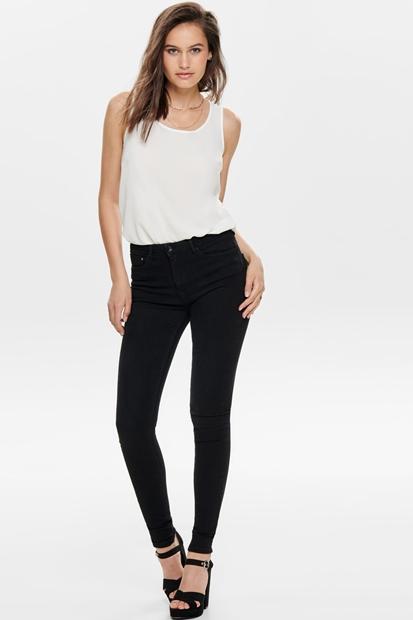 Paola Jeans Siyah Kadın Pantolon