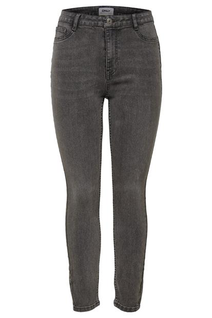 Fhi-Rise Skinny Jeans Gri Kadın Pantolon