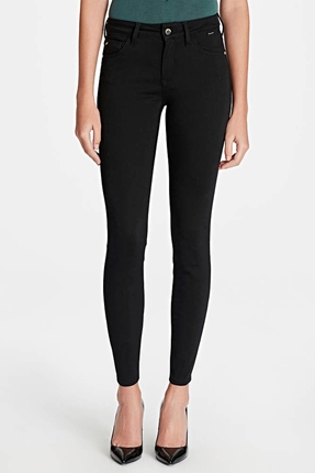 Adriana Ankle Gold Siyah Kadın Pantolon