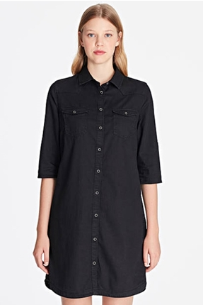 Siyah Kadın Gömlek