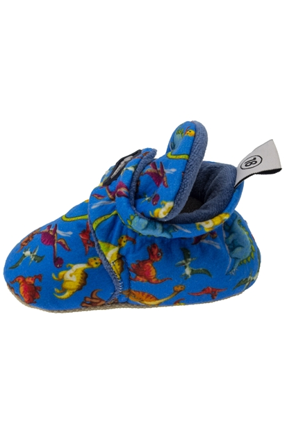 Baby Bootie Patterned Mavi Günlük Ayakkabı