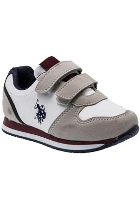 9F Lusty 9Pr Beyaz Çocuk Günlük Ayakkabı