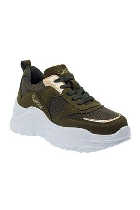 9F Sally 9Pr Yeşil Kadın Ayakkabı