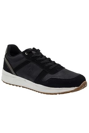 9F Norman Siyah Spor Ayakkabı