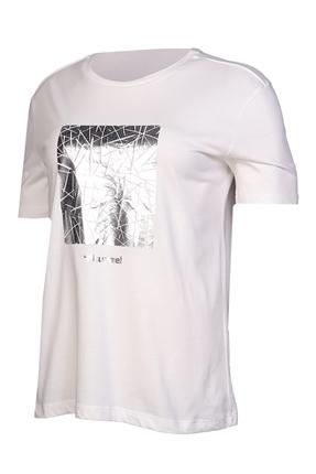 Calvino Beyaz Kadın Tişört