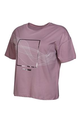 Digna Pembe Kadın Tişört