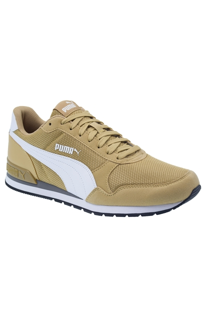 Puma St Runner V2 Mesh Sarı Erkek Günlük Ayakkabı
