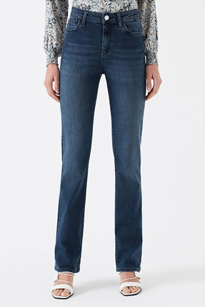 Kendra Indigo Glam Lacivert Kadın Pantolon