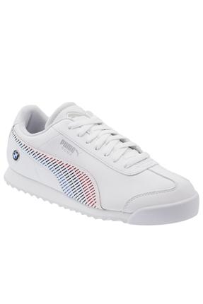Bmw Mms Roma Beyaz Erkek Günlük Ayakkabı