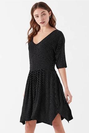 Örme Siyah Elbise