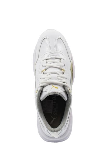 Cilia Patent Beyaz Günlük Ayakkabı