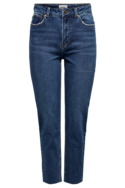 Emily Raw Lacivert Kadın Pantolon