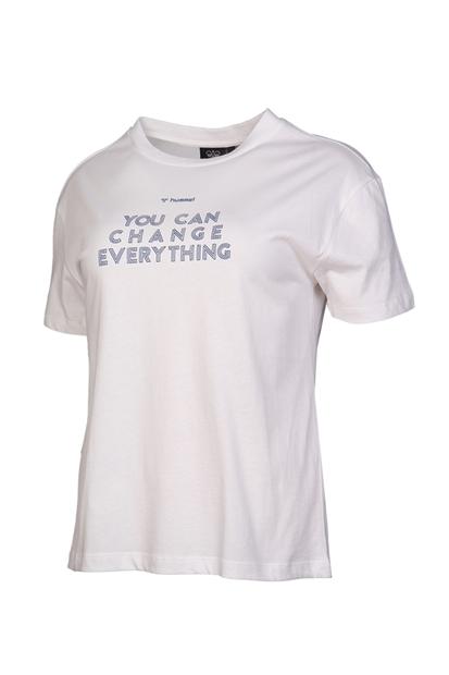 Usoa Beyaz Kadın Tişört