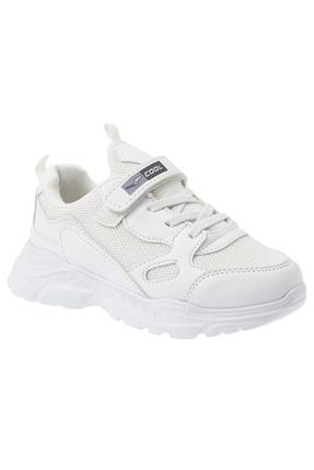 Beyaz Çocuk Günlük Ayakkabı