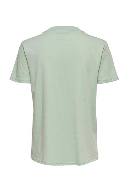 Weekday Life Reg Yeşil Kadın Tişört